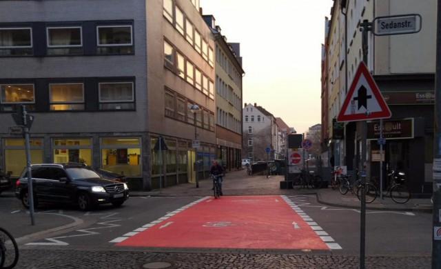 Vorfahrt Volgersweg